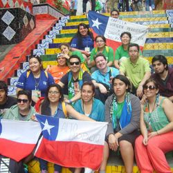 Delegates from Virgen Peregrina and Sagrada Familia Chapels (Valparaiso) to the World Youth Day 2013(Rio Janiero)