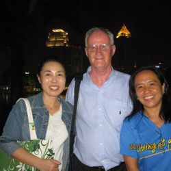 Arlene and Columba assigned in Burma with Fr. Alo Connaughton.