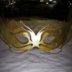 Steel Plated masquerade masks