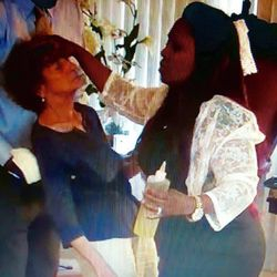 Apostle Asia Hurd in service of the Holy Ghost