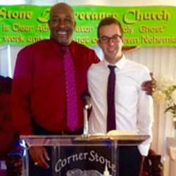 Bishop Hurd and Brother Giovanni