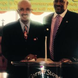 Brother Turne r and Bishop Hurd