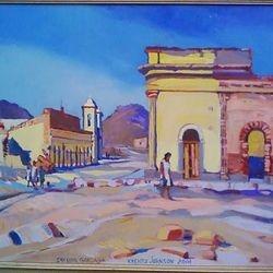 "San Luis Ganzaga, Baja, 20x24"" Oil 2001"