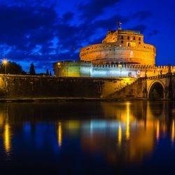 CrisRomanGuide - Rome By Night - Saint Angel's Castle