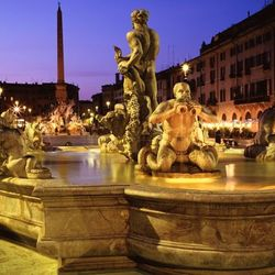 CrisRomanGuide - Rome By Night - Navona Square