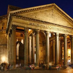 CrisRomanGuide - Rome By Night - The Pantheon