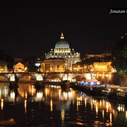 CrisRomanGuide - Rome By Night - Saint Peter's Basilica
