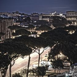 CrisRomanGuide - Rome By Night - Imperial Forum Street