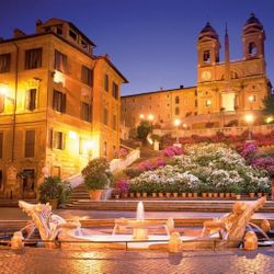 CrisRomanGuide - Rome By Night - Piazza di Spagna