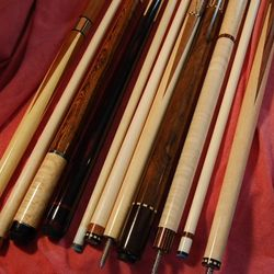 "Keith ""Bernie"" Cooper BC Custom Cues (573) 539-9685"