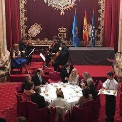 entrega de premios en el Hotel Reconquista