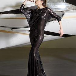 8604 Dolman Gown
