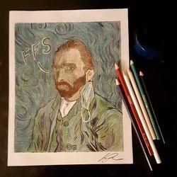 dos Ramos Studio Colored Pencil Art