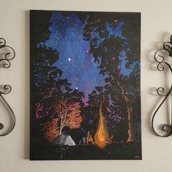 Twilight Campfire