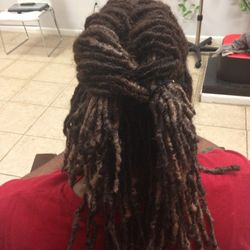 Dreads Styled by Braids by Bee