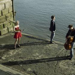 Ensemble Metamusika in performance of piano trios. Photography by Hannah Strijbos.