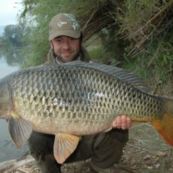 Ebor Carp fishing river ebro Spain