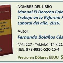 Costo de libro para Costa Rica ¢12.000,ºº