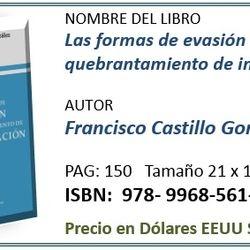 Costo del libro para CR ¢10.000,ºº