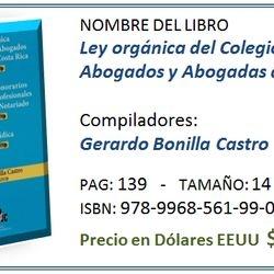 Costo de Libro en CR ¢4.000,ºº