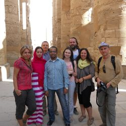 At the Karnak Temple