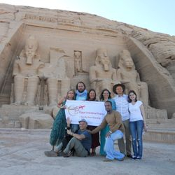 at Abu Simbel Temple