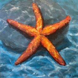 """Starfish-36""""x36"""" Acrylic"""