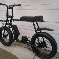 retro electric bike double seater