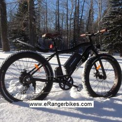 electric snow bike mid drive