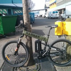 electric folding bike mid drive conversion