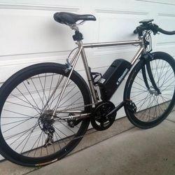 electric road bike bullhorn