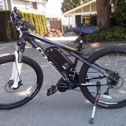 electric mountain bike mid drive conversion