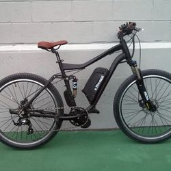 electric mountain downhill bike