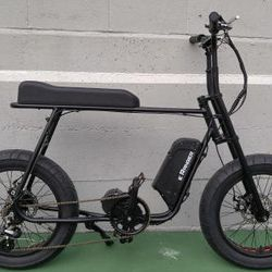 vintage style electric fat bike 1000w