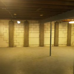 Interior Basement Wall Repair
