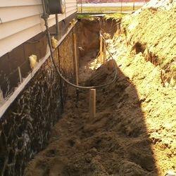 Leaky Basement Repair