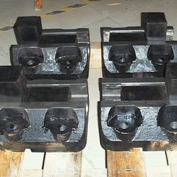 "6"" X 10"" 152MM (6"") CENTER DISTANCE OF ANCHOR HOLES X 254MM (10"") OVERALL LENGTH"