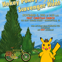 Hokey Pokey 2016 Scavenger Hunt