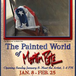 The Painted World of Martin Pate Exhibit 2017