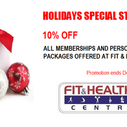 fit & healthy centre - Christmas special