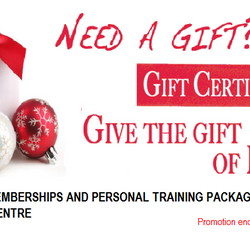 fit & healthy centre - holiday special