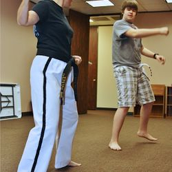 Tae Kwon Do Student at Focus Academy