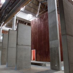 A glimpse on the Hall of Pillars inside the Red Location Museum (Photo: Rob Ducker)
