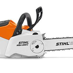 MSA 200 - Battery Powered Chainsaw - Removable battery. Trimmer, Blower and Hedgetrimmer also available.
