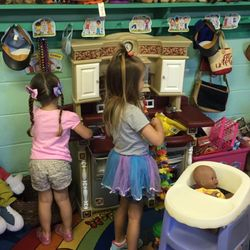 Our dramatic play area