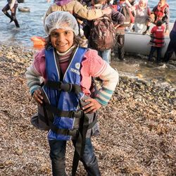 Michael Honegger Photography  This face of Syria greeted me yesterday morning as she reached the shore