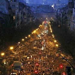 the Huge Paris Rally for Charlie Hebdo
