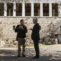 Ancient Agora , Athens, US Ambassador to Greece tour