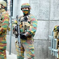 Belgium terror fears: Boy, 14, found with rucksack full of bombs marked 'Allah Akbar'