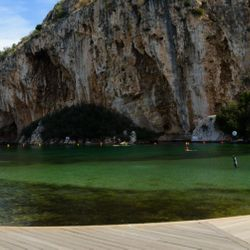 Lake Vouliagmeni, Thermal Spring